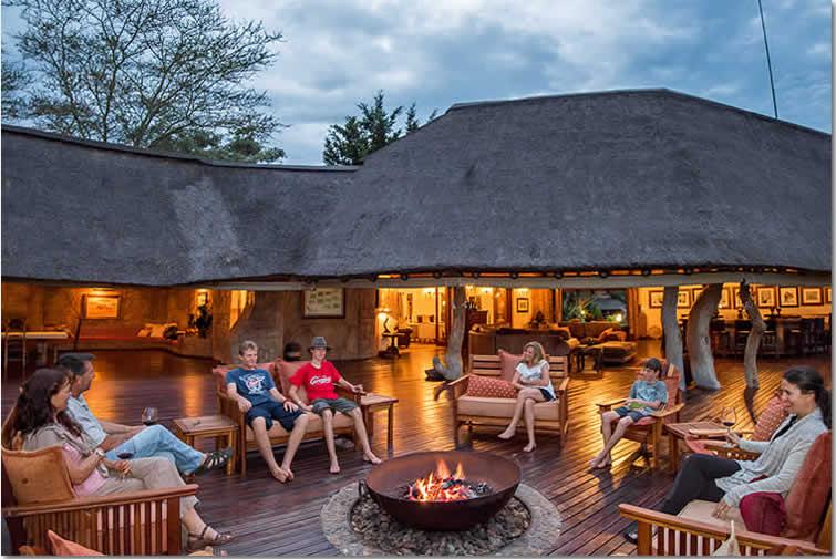Kaigno Lodge Deck Area