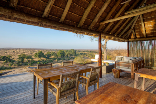 Misava Dining Deck View