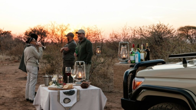 Tambuti Lodge Sundowners
